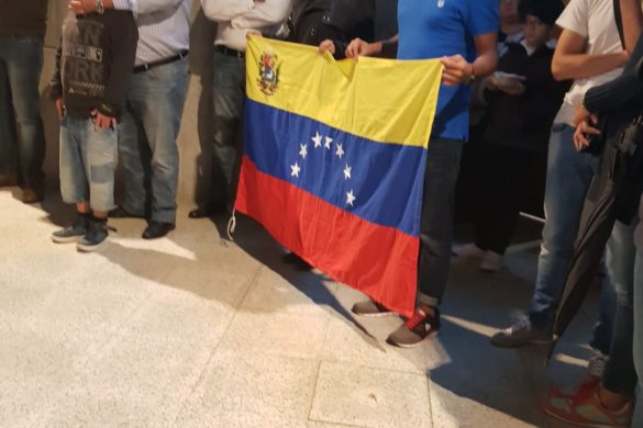 Misa en honor de Ntra Sra de Coromoto, patrona de Venezuela