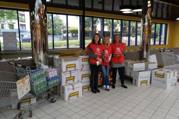 Recogida de alimentos para Caritas
