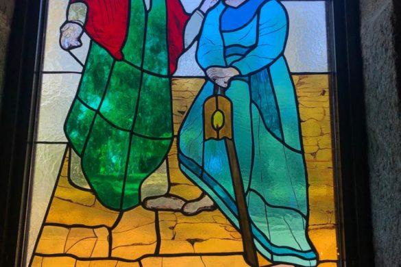 Nuevos vitrales para San Martín de Dorneda