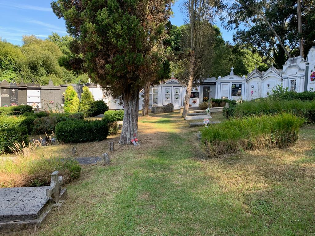 La limpieza del cementerio, una realidad